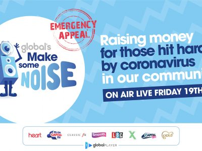 Global make some noise emergency appeal